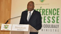 Conférence de presse Gon Coulibaly