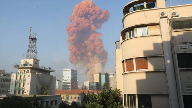deux Explosions Liban Beyrouth