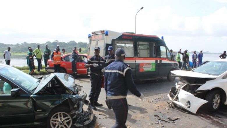Yamoussoukro - Accident de la circulation - 5 morts